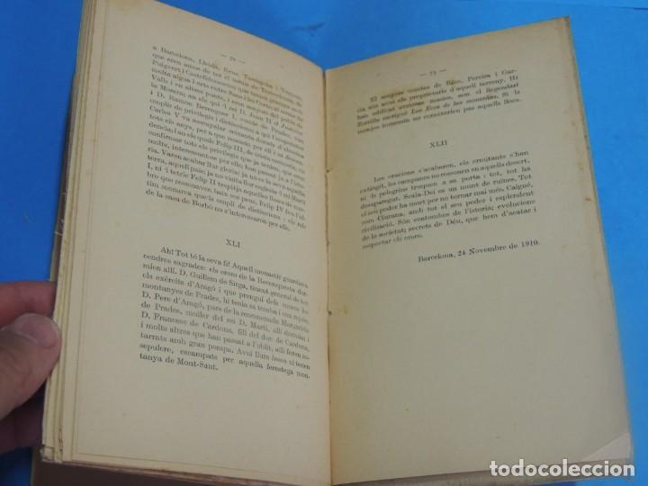 Libros antiguos: DESCORNALBOU A SCALA-DEI.- FRANCISCO GRAS I ELIAS - Foto 7 - 269851733