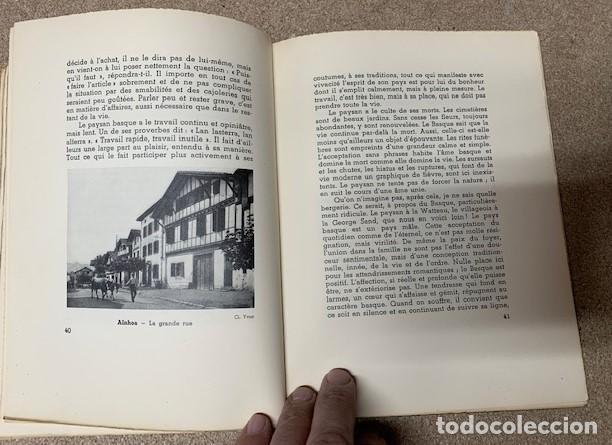 Libros antiguos: LE PAYS DES BASQUES - GAËTAN BERNOVILLE - Foto 5 - 269958983