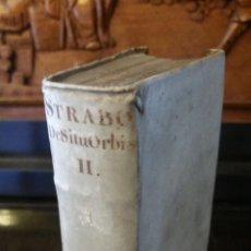 Libros antiguos: 1652 - ESTRABÓN - DE SITU ORBIS. Lote 270207588