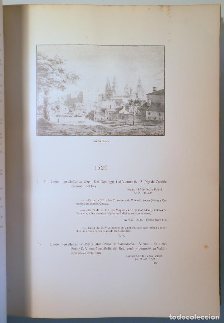 Libros antiguos: FORONDA Y AGUILERA, Manuel de - ESTANCIAS Y VIAJES DEL EMPERADOR CARLOS V - Madrid 1914 - Foto 3 - 271129873