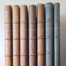 Libros antiguos: BOLETÍN DE LA SOCIEDAD ESPAÑOLA DE EXCURSIONES 1893- 1899 (7 VOL.) - MADRID 1893-1899 - ILUSTRADO. Lote 271130128