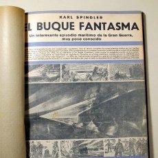 Libros antiguos: SPINDLER, KARL - EL BUQUE FANTASMA. EDICIÓN POPULAR - BARCELONA 1933. Lote 272213313