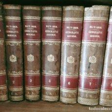 Libros antiguos: GEOGRAFIA UNIVERSAL , MALTE BRUN 7 TOMOS COMPLETA COMPRENDE TOMO DE ESPAAÑA. Lote 274224298