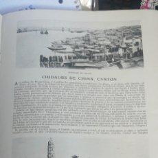 Libros antiguos: ( CHINA, CIUDAD DE CANTON ) 1909 BLANCO Y NEGO. REVISTA ILUSTRADA 2 DE ENERO AÑO XIX NUM 922. Lote 274314823