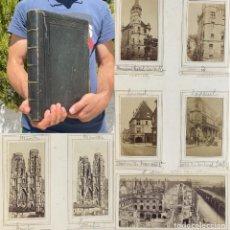 Libros antiguos: 1870 - ALBUM FOTOGRAFICO - VIAJE POR FRANCIA - GUERRA FRANCO PRUSIANA. Lote 274343848