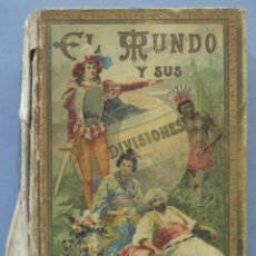 Livres anciens: EL MUNDO Y SUS DIVISIONES. CALLEJA. Lote 275157573