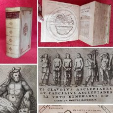Livres anciens: AÑO 1722 - DE LUJO - POMPONIO MELA - SOBRE LOS LUGARES DEL MUNDO - DE SITU ORBIS - GRABADOS - MAPAS. Lote 275748483