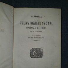 Livres anciens: PANORAMA UNIVERSAL: MADAGASCAR, BORBÓN, MAURICIO, RÍO DE LA PLATA Y ANTILLAS.. Lote 276594913