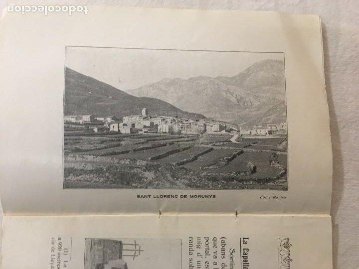 Libros antiguos: Josep de Rovira Cabanas. Assaig Históric de La Capella de la Pietat de Sant Llorenç de Morunys. 1925 - Foto 3 - 276992388