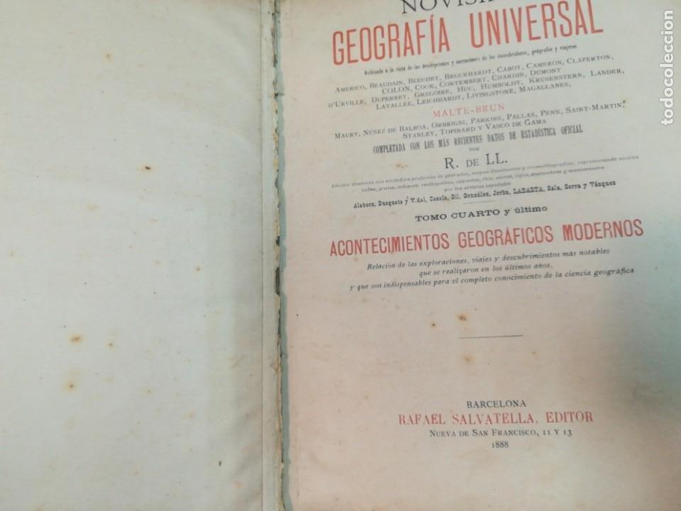 Libros antiguos: VV.AA Novisima Geografia Universal Tomo IV SA4757 - Foto 3 - 276998748