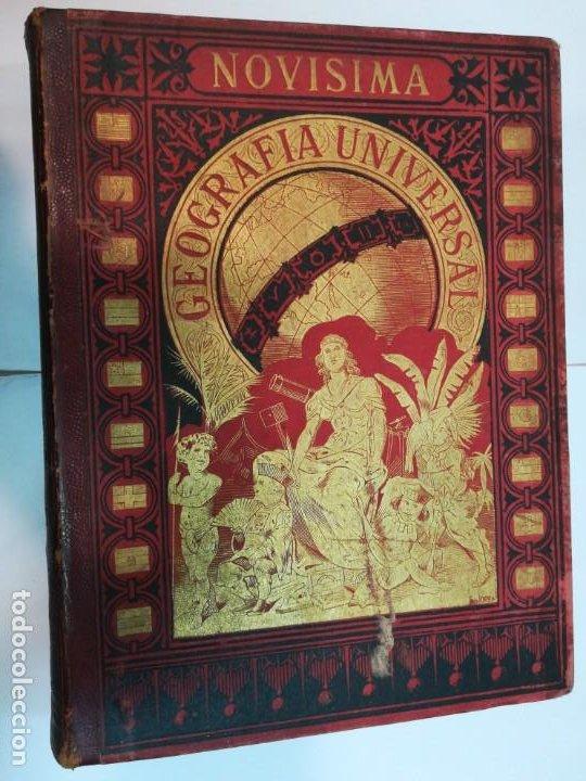 VV.AA NOVISIMA GEOGRAFIA UNIVERSAL TOMO IV SA4757 (Libros Antiguos, Raros y Curiosos - Geografía y Viajes)
