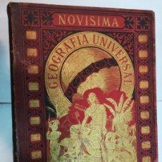 Libros antiguos: VV.AA NOVISIMA GEOGRAFIA UNIVERSAL TOMO IV SA4757. Lote 276998748