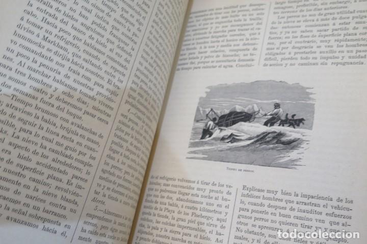 Libros antiguos: 1882.- VIAJES AL POLO NORTE. CAPITAN NARES Y DOCTOR NORDENSKIOLD - Foto 4 - 277006568