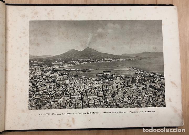 Libros antiguos: ALBUM RECUERDO DE NAPOLES. RICORDO DI NAPOLI. 32 VISTAS. C. 1930 - Foto 2 - 277012908
