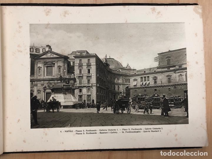 Libros antiguos: ALBUM RECUERDO DE NAPOLES. RICORDO DI NAPOLI. 32 VISTAS. C. 1930 - Foto 3 - 277012908