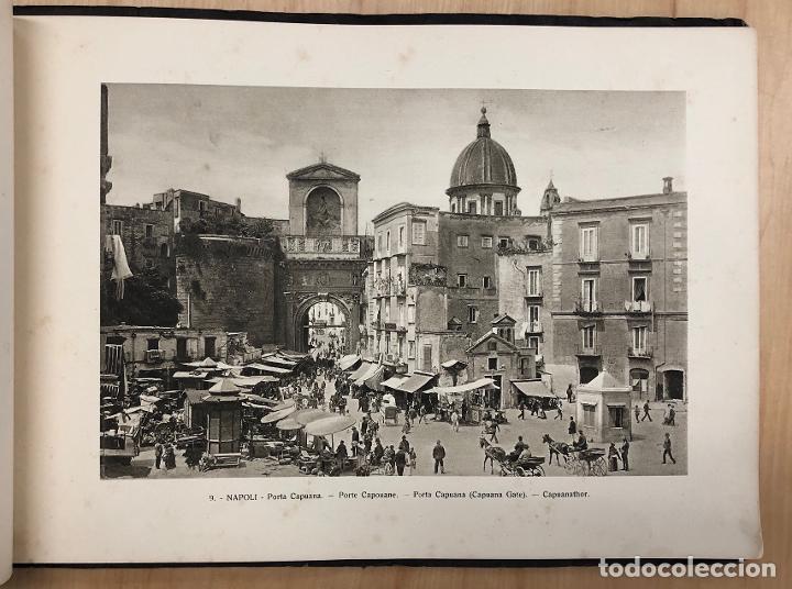 Libros antiguos: ALBUM RECUERDO DE NAPOLES. RICORDO DI NAPOLI. 32 VISTAS. C. 1930 - Foto 5 - 277012908