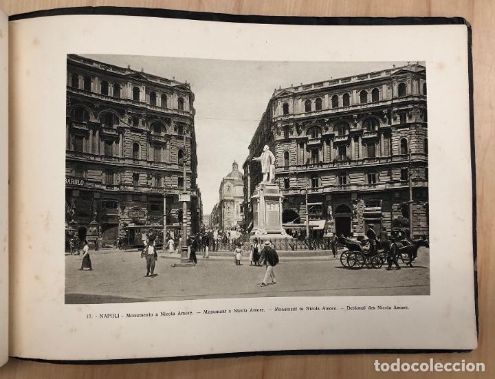 Libros antiguos: ALBUM RECUERDO DE NAPOLES. RICORDO DI NAPOLI. 32 VISTAS. C. 1930 - Foto 6 - 277012908