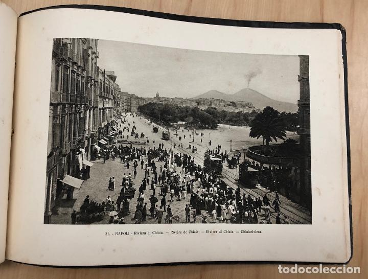 Libros antiguos: ALBUM RECUERDO DE NAPOLES. RICORDO DI NAPOLI. 32 VISTAS. C. 1930 - Foto 7 - 277012908