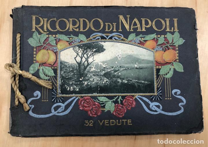 ALBUM RECUERDO DE NAPOLES. RICORDO DI NAPOLI. 32 VISTAS. C. 1930 (Libros Antiguos, Raros y Curiosos - Geografía y Viajes)