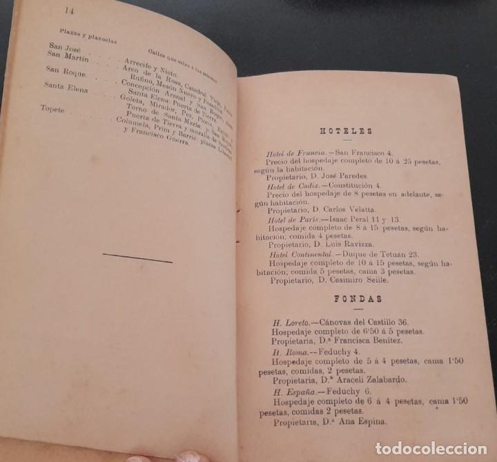 Libros antiguos: GUÍA ILUSTRADA DEL TOURISTA EN CÁDIZ, DE 1906 - Foto 3 - 277071998