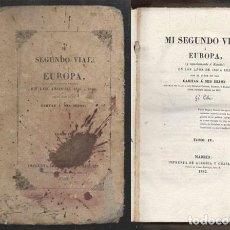 Libros antiguos: MI SEGUNDO VIAJE A EUROPA Y ESPECIALMENTE A ESPAÑA - TOMO IV - G. LOVE - A-INCOMP-457. Lote 277078373