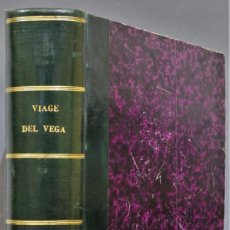 Libros antiguos: 1882.- CIRCUNNAVEGACION DEL ASIA Y EUROPA, VIAJE DEL VEGA. NORDENSKIOLD. Lote 277079068