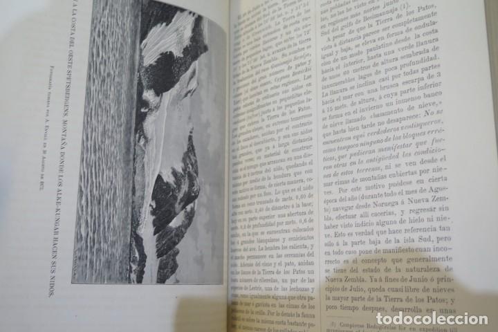 Libros antiguos: 1882.- CIRCUNNAVEGACION DEL ASIA Y EUROPA, VIAJE DEL VEGA. NORDENSKIOLD - Foto 3 - 277079068