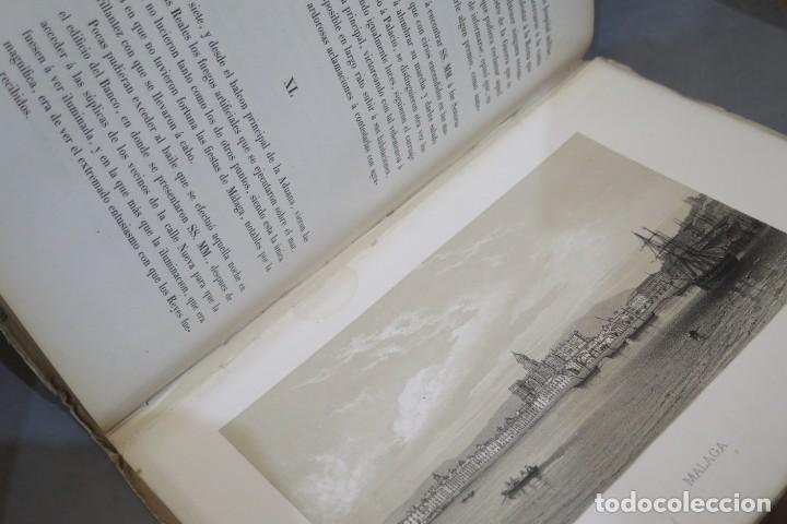 Libros antiguos: 1863.- CRONICA DEL VIAJE DE SS.MM Y AA.RR A ANDALUCIA Y MURCIA. COS-AYON - Foto 3 - 277079433
