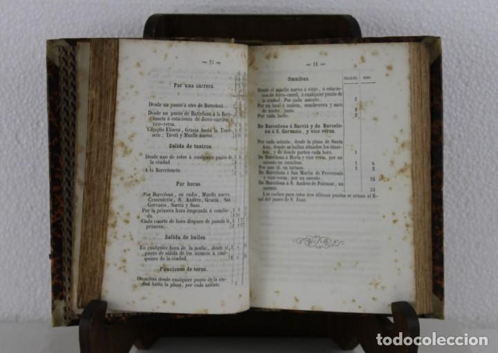 Libros antiguos: Guía Ferro-Carril de Barcelona á Arenys, Martorell, Tarrassa, Granollers. Víctor Balaguer 1857 - Foto 5 - 277567393