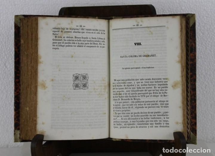 Libros antiguos: Guía Ferro-Carril de Barcelona á Arenys, Martorell, Tarrassa, Granollers. Víctor Balaguer 1857 - Foto 6 - 277567393