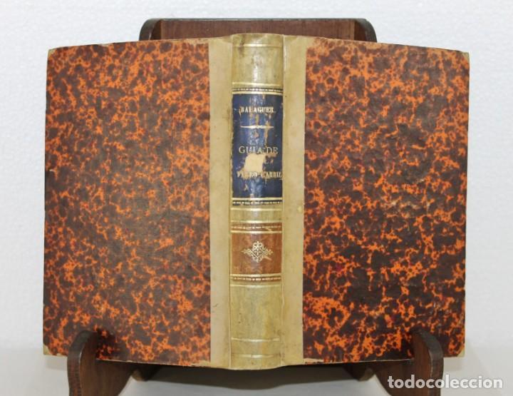 Libros antiguos: Guía Ferro-Carril de Barcelona á Arenys, Martorell, Tarrassa, Granollers. Víctor Balaguer 1857 - Foto 7 - 277567393