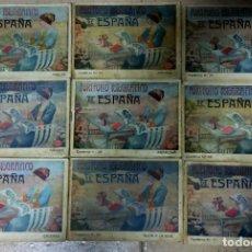 Libros antiguos: 9 CUADERNOS DE LA EDICIÓN DE PORTAFOLIO FOTOGRAFICO DE ESPAÑA. 1900 APROX. DIVERSAS LOCALIDADES.. Lote 278641973