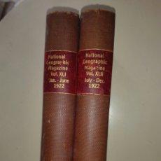 Libros antiguos: NATIONAL GEOGRAPHIC 1922 2 TOMOS LA TIERRA DE LOS VASCOS. Lote 278763398