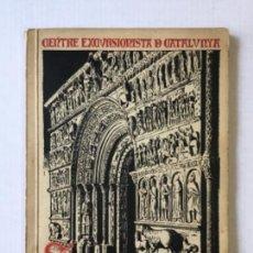 Libros antiguos: MONOGRAFIA DE SANTA MARIA DE RIPOLL. - DANÉS I VERNEDAS, JOAN.. Lote 123180244