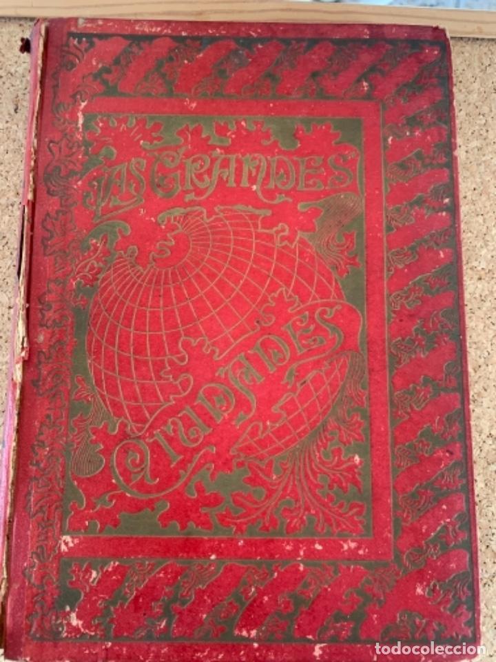 LAS GRANDES CIUDADES, ROMA, MADRID, LISBOA, ATENAS, TOKIO (CAJ, 4) (Libros Antiguos, Raros y Curiosos - Geografía y Viajes)