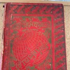 Libros antiguos: LAS GRANDES CIUDADES, ROMA, MADRID, LISBOA, ATENAS, TOKIO (CAJ, 4). Lote 278880263