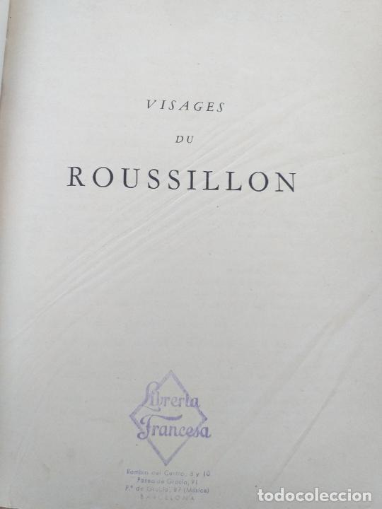 Libros antiguos: VISAGES DU ROUSSILLON ANDRE MAREZ DURLIAT HORIZONS DE FRANCE 1952 - LIBRERIA FRANCESA - Foto 3 - 280136598