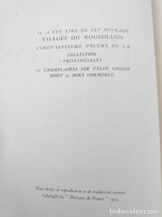 Libros antiguos: VISAGES DU ROUSSILLON ANDRE MAREZ DURLIAT HORIZONS DE FRANCE 1952 - LIBRERIA FRANCESA - Foto 5 - 280136598