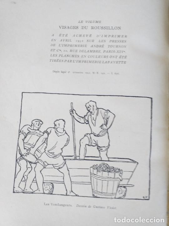 Libros antiguos: VISAGES DU ROUSSILLON ANDRE MAREZ DURLIAT HORIZONS DE FRANCE 1952 - LIBRERIA FRANCESA - Foto 10 - 280136598