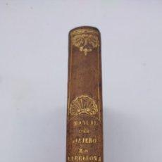 Libros antiguos: MANUAL DEL VIAJERO EN BARCELONA AÑO 1840. Lote 284723323