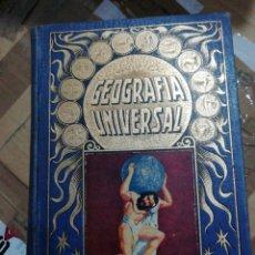 Libros antiguos: GEOGRAFÍA UNIVERSAL. Lote 285058833