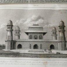 Libri antichi: HISTORIA DE LA INDIA AÑO 1845 MAGNIFICA OBRA. Lote 285321633
