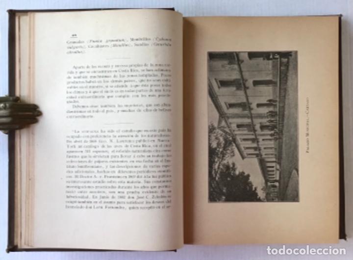Libros antiguos: GEOGRAFÍA DE COSTA RICA. - MONTERO BARRANTES, Francisco. - Foto 3 - 286797808