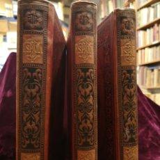 Livros antigos: NAVARRA Y LOGROÑO - ESPAÑA SUS MONUMENTOS Y ARTES - PEDRO DE MADRAZO - 3 VOLÚMENES - AÑO 1886. Lote 287988283