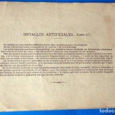 Libros antiguos: ANTIGUAS LAMINAS DE TOPOGRAFÍA. Lote 288539998