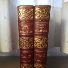 Libros antiguos: VIAJE AL POLO SUR NORDENSKJOLD TOMOS 1 Y 2 1904-1905. Lote 288886738