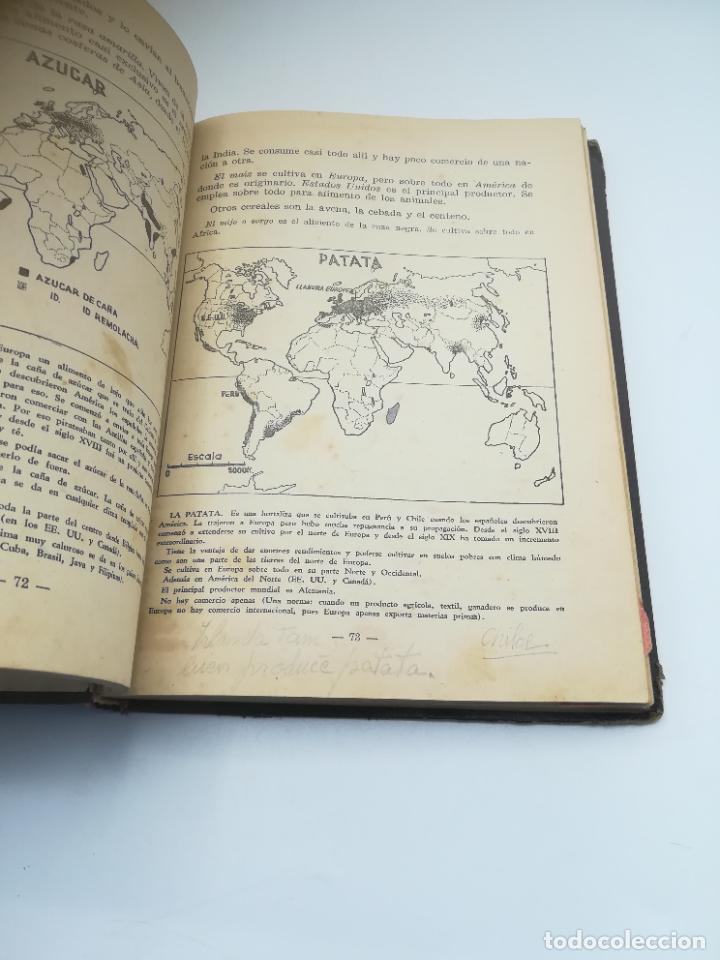 Libros antiguos: GEOGRAFIA UNIVERSAL. 2º CURSO BACHILLERATO. ED HECHOS Y DICHOS. ZARAGOZA. 2º ED. SUBRAYADOS. VER - Foto 6 - 288903098