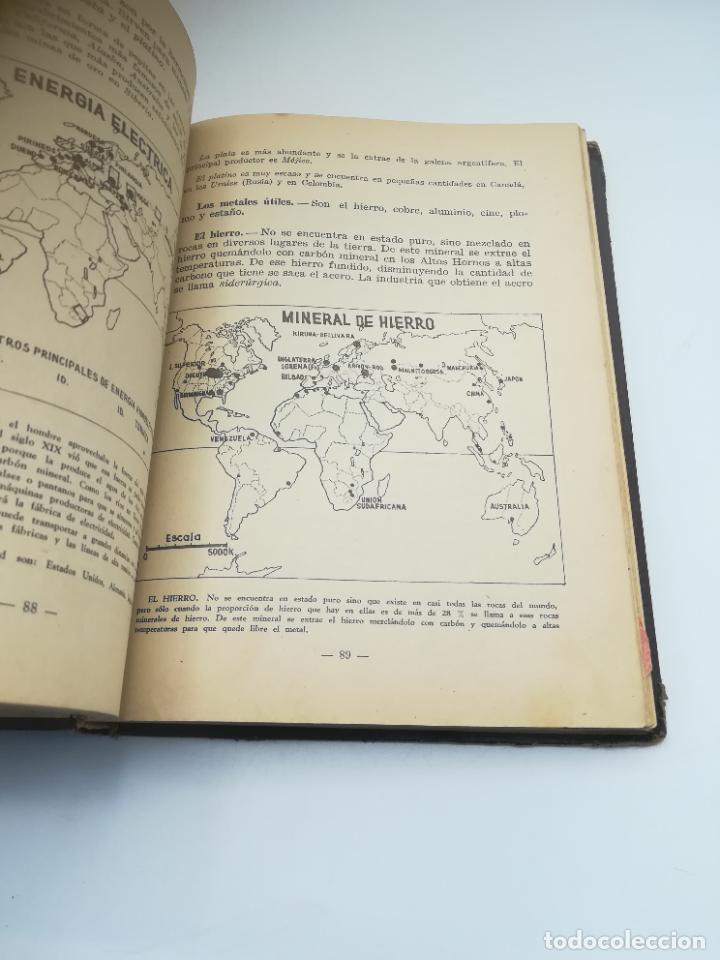 Libros antiguos: GEOGRAFIA UNIVERSAL. 2º CURSO BACHILLERATO. ED HECHOS Y DICHOS. ZARAGOZA. 2º ED. SUBRAYADOS. VER - Foto 7 - 288903098