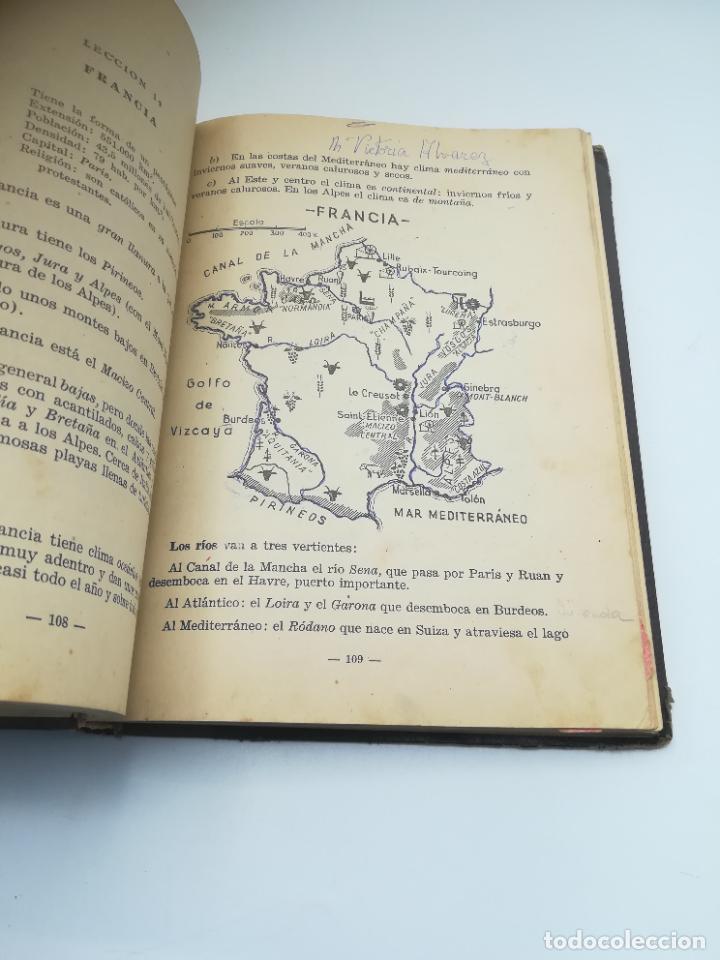Libros antiguos: GEOGRAFIA UNIVERSAL. 2º CURSO BACHILLERATO. ED HECHOS Y DICHOS. ZARAGOZA. 2º ED. SUBRAYADOS. VER - Foto 8 - 288903098