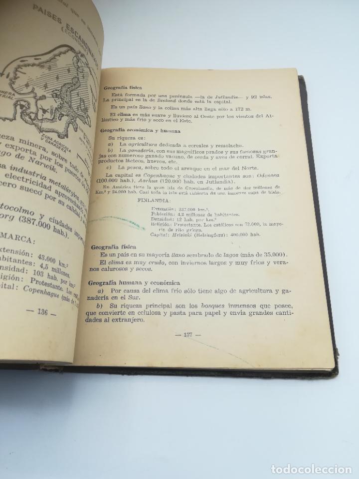 Libros antiguos: GEOGRAFIA UNIVERSAL. 2º CURSO BACHILLERATO. ED HECHOS Y DICHOS. ZARAGOZA. 2º ED. SUBRAYADOS. VER - Foto 9 - 288903098